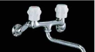 ツーハンドル式蛇口