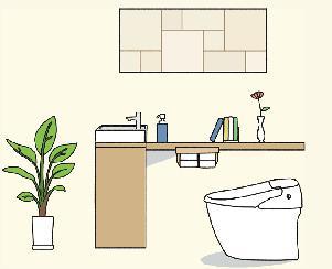 トイレ全体図