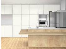 キッチン全体2