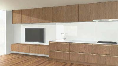 キッチンと部屋のデザイン3