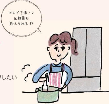 料理している人