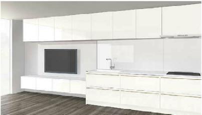 キッチンと部屋のデザイン5