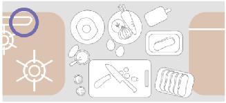 調理のスペースの図2
