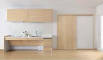 キッチンとインテリア建材