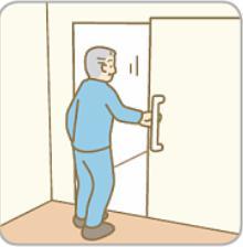 トイレに入る
