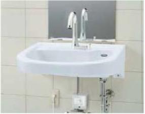 バリアフリー対応洗面器