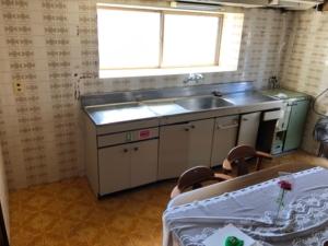 リフォーム前のキッチン1
