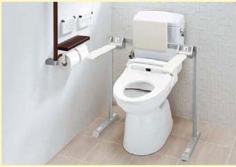 便座の高めのトイレ