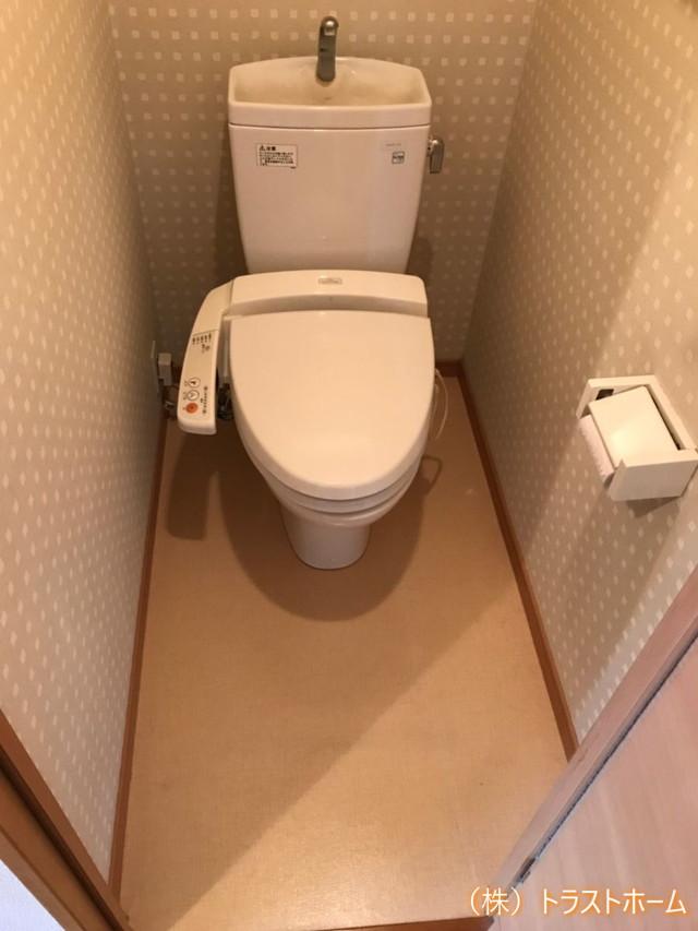 トイレ室内フルリフォーム