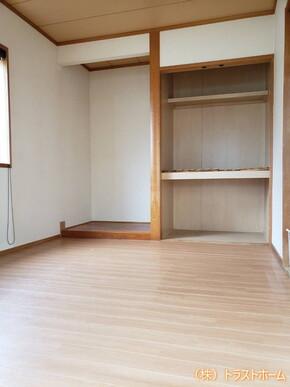 和室を素敵な洋室へ♪押し入れまでリフォームしました★のビフォー画像