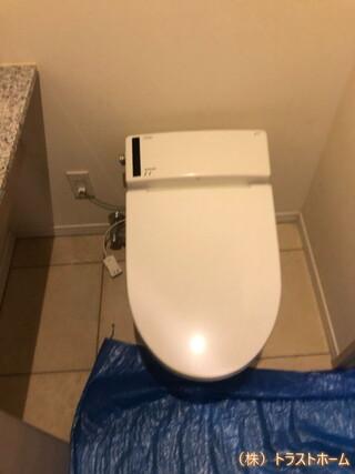 TOTOネオレスト便器でトイレをリフォームしました♪のビフォー画像