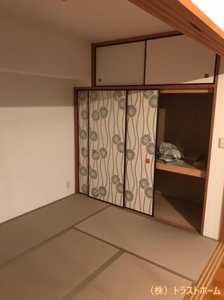 和室をこだわりの畳・襖でオシャレ空間へリフォーム♪のアフター画像