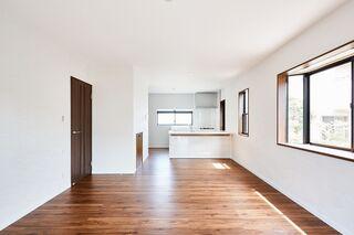 戸建てのキッチン&リビングをリフォームしました♪のアフター画像