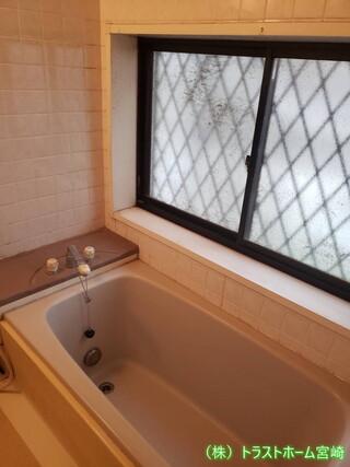 浴室をシステムバスサザナにリフォームしました♪のビフォー画像